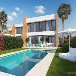 une villa avec piscine en espagne
