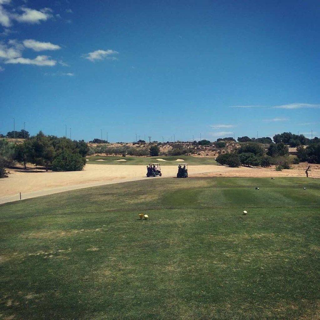 Par 3, 15th hole in Lo Romero Golf